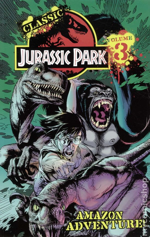 Jurassic Park Comic Books Issue 3