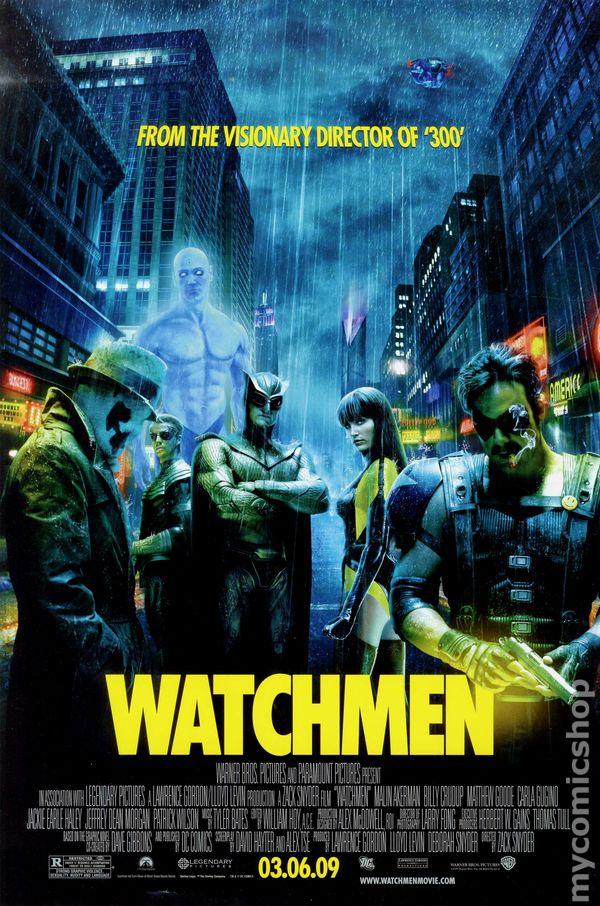 watchmen directed by zack snyder essay