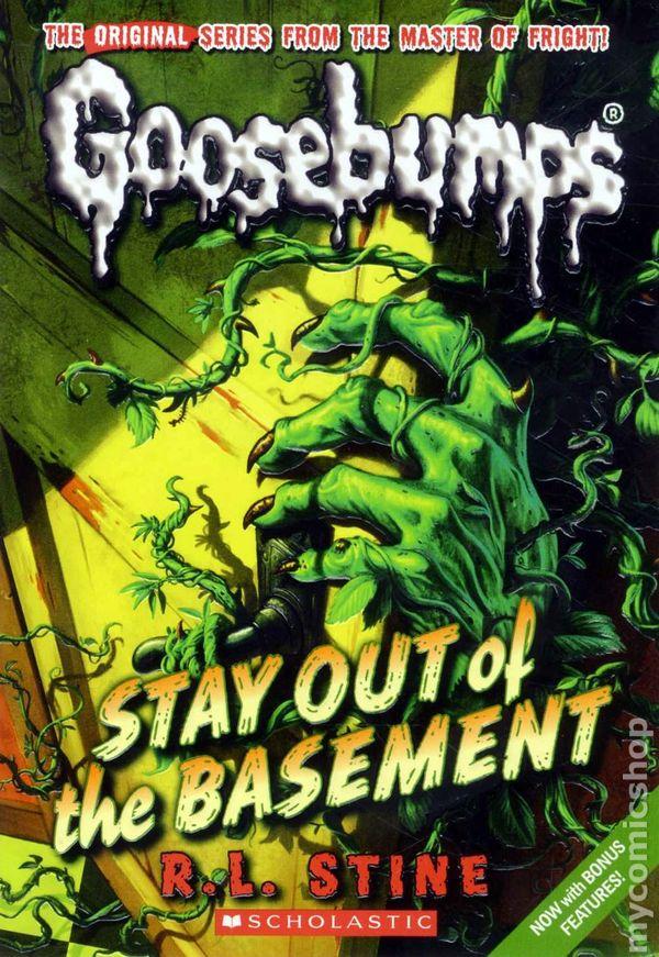 goosebumps stay out of the basement sc 2011 novel comic