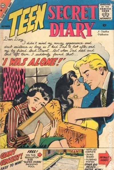 teen diary books