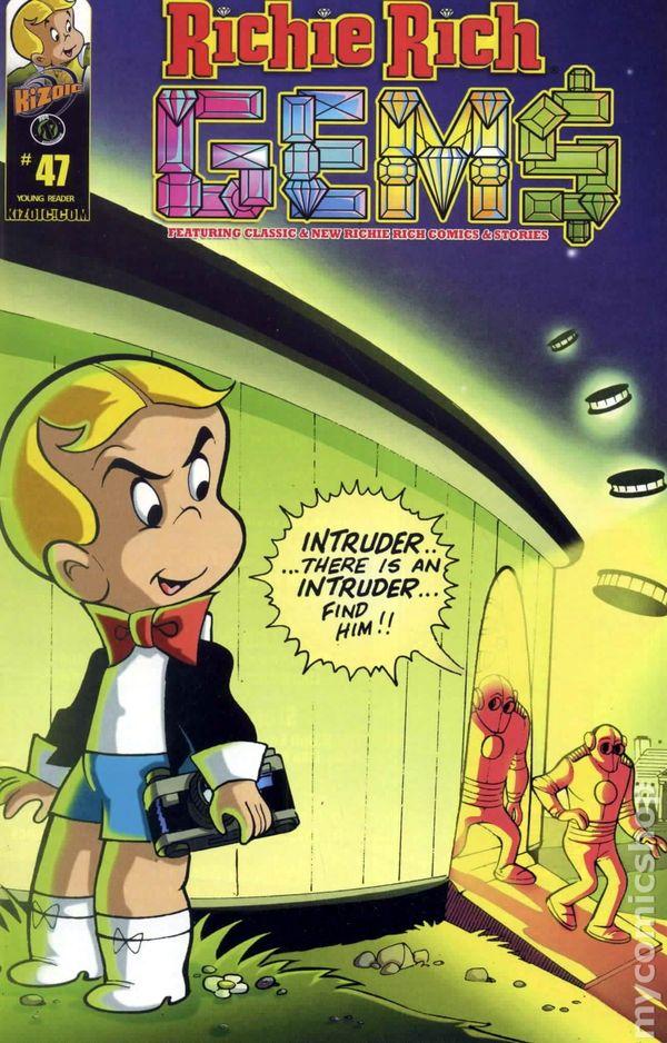 Richie Colon >> Richie Rich Gems (2011 Ape Entertainment Kizoic) comic books