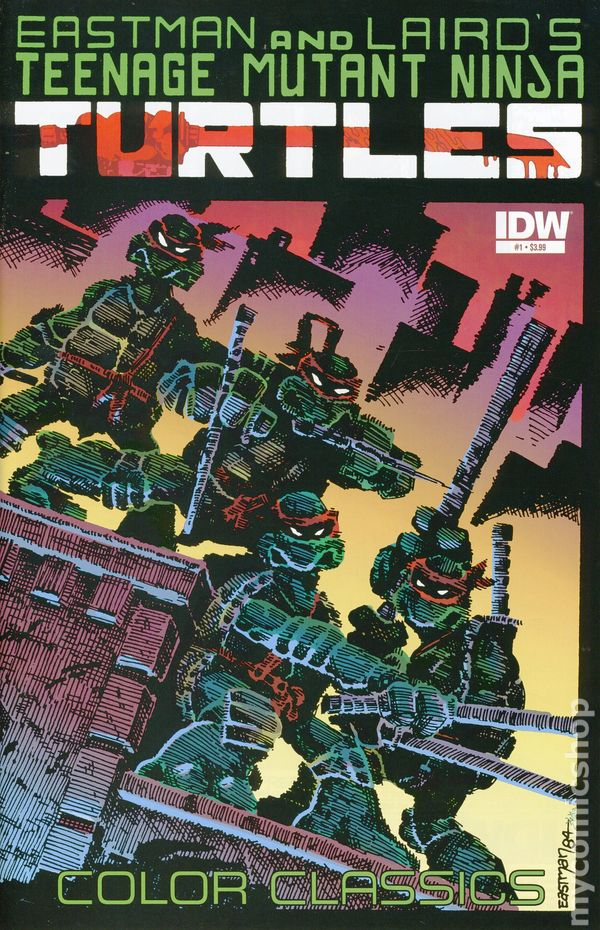 Teenage Mutant Ninja Turtles Color Classics 2012 Idw Comic Books