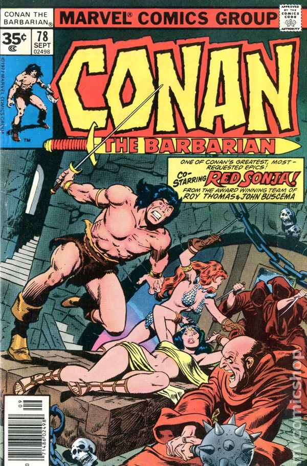 Comic books in '35 Cent Variant'