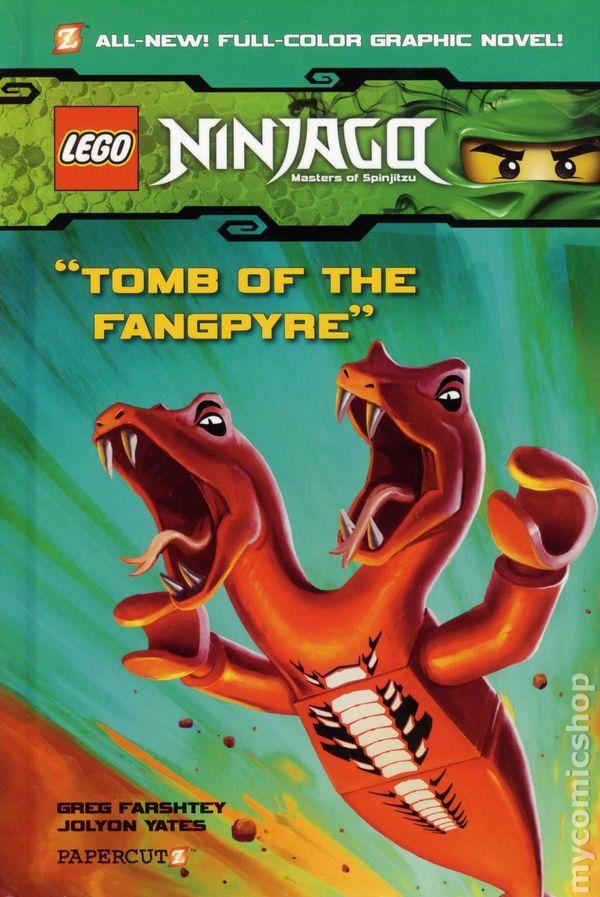 Lego Ninjago Hc 2011 2014 Papercutz Comic Books