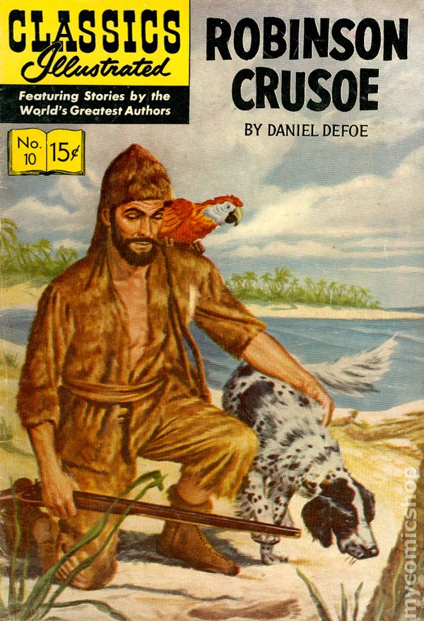 When was robinson crusoe published