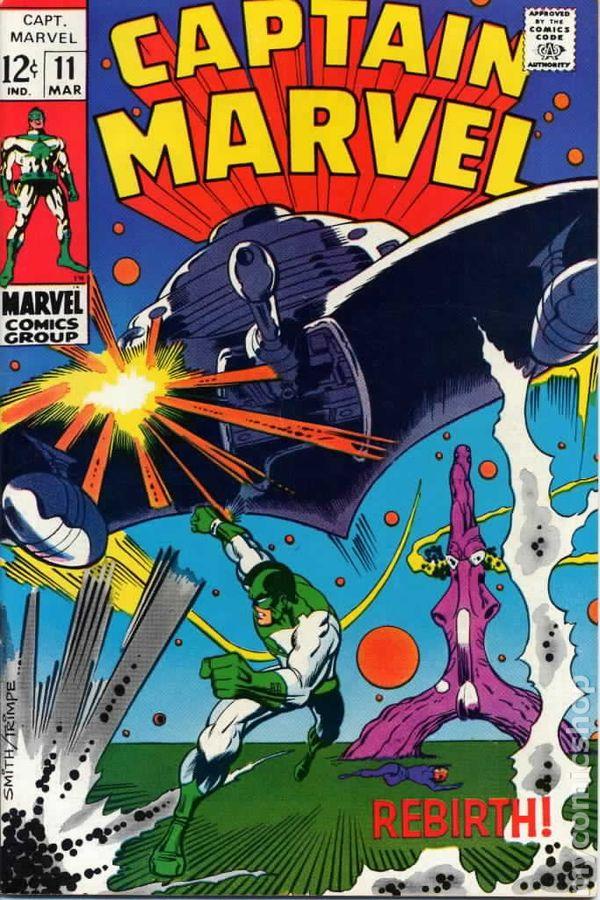 Captain marvel faces
