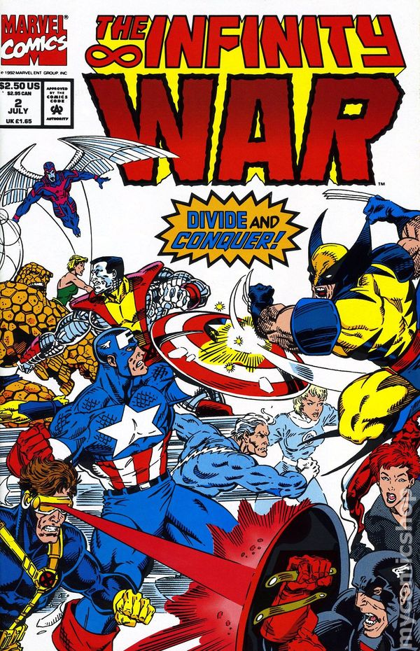 Infinity War Part 2 Comics