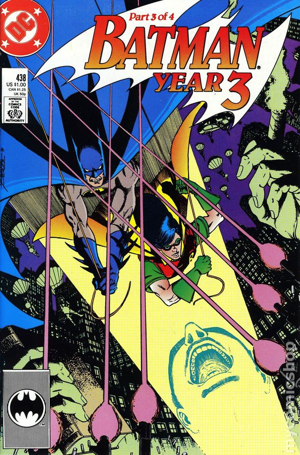 Comic books in 'Batman Year 3'