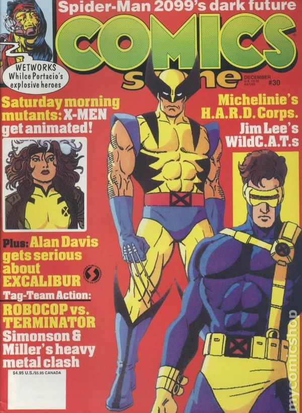 Comics Scene 1987 2nd Series Comic Books