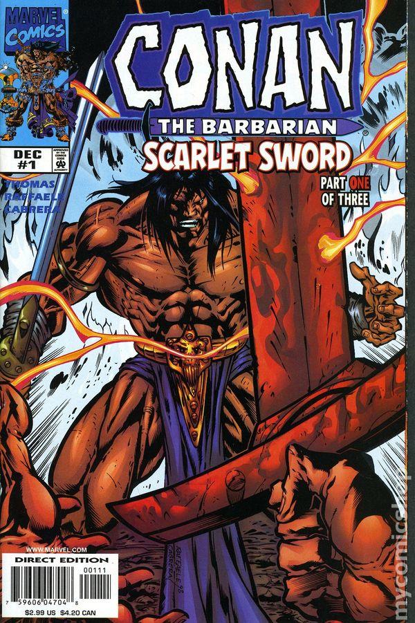 C >> Conan Scarlet Sword (1998) comic books