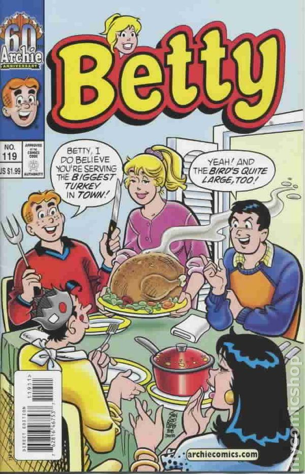 Thanksgiving Cookbook Cover ~ Comic books in norman rockwell thanksgiving dinner cover