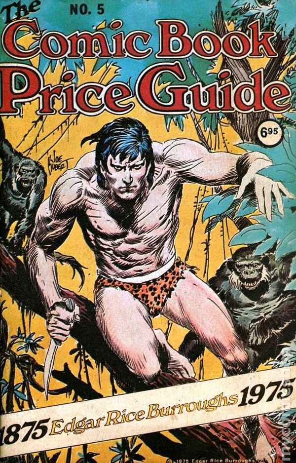 overstreet comic book price guide 45