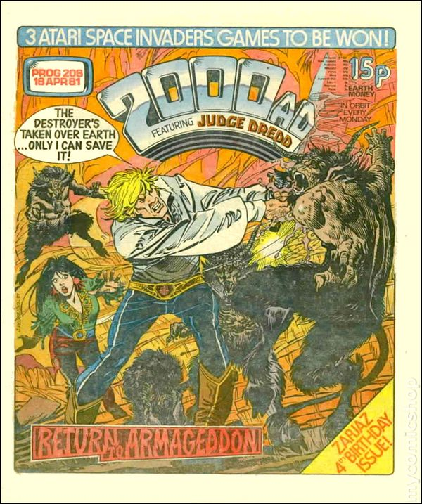 Kingdom Comics Free Comic Book Day: 2000 AD (1977 United Kingdom) Comic Books