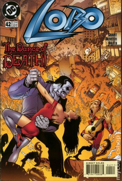 lobo  1993 2nd series dc  comic books