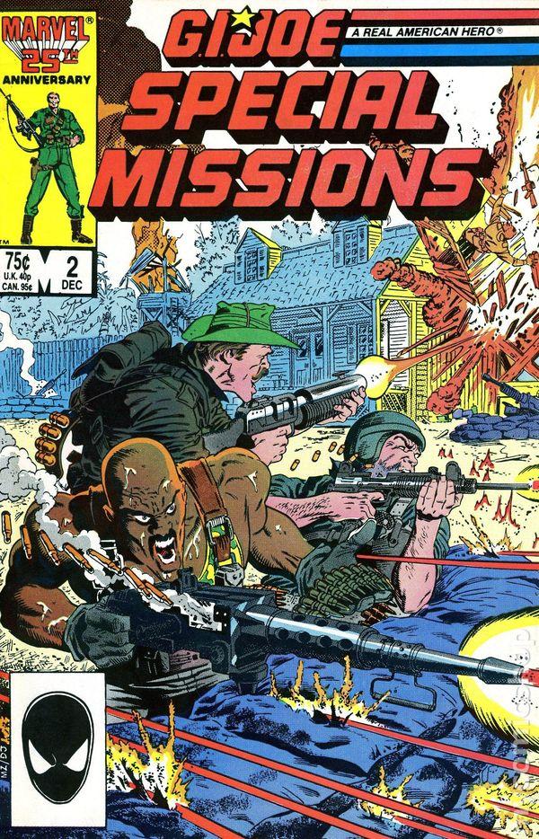 GI Joe Special Missions 1986 Comic Books