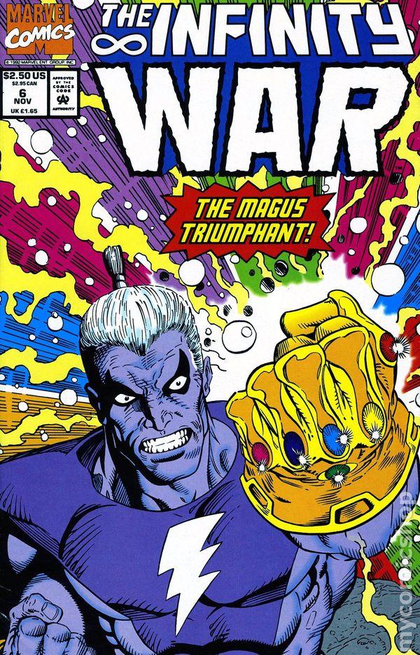 Infinity War Comic Book Online