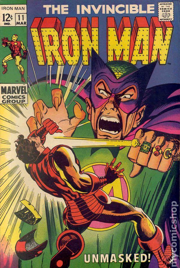 iron man  1968 1st series  comic books 1960