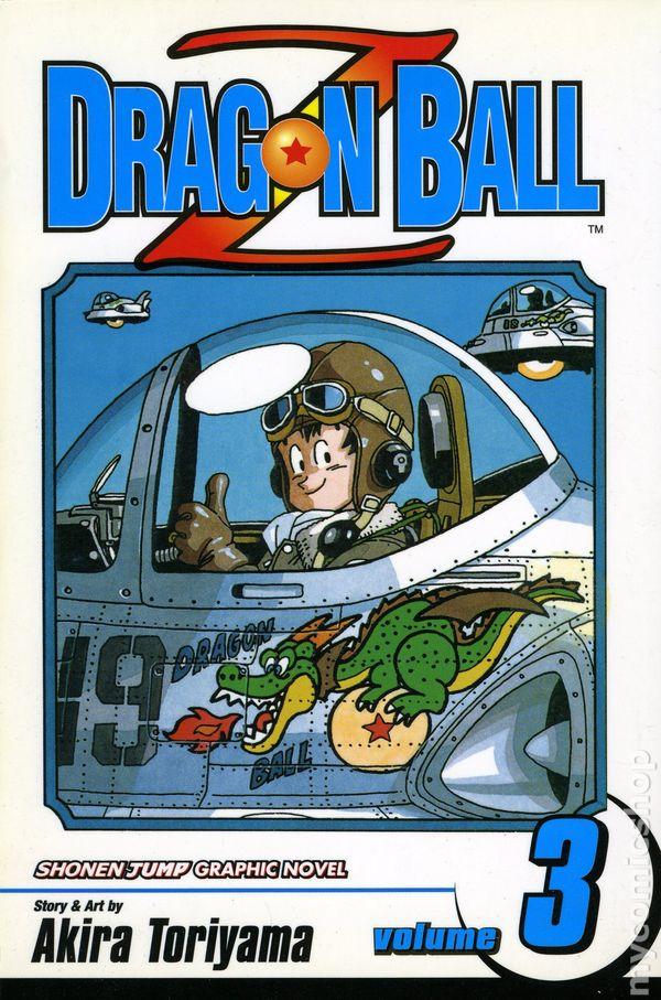 dragon ball z comic books issue 3