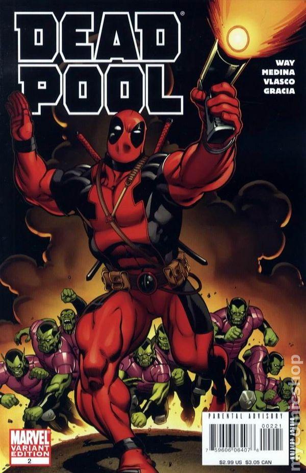 Deadpool 2008 2nd series comic books for Deadpool show