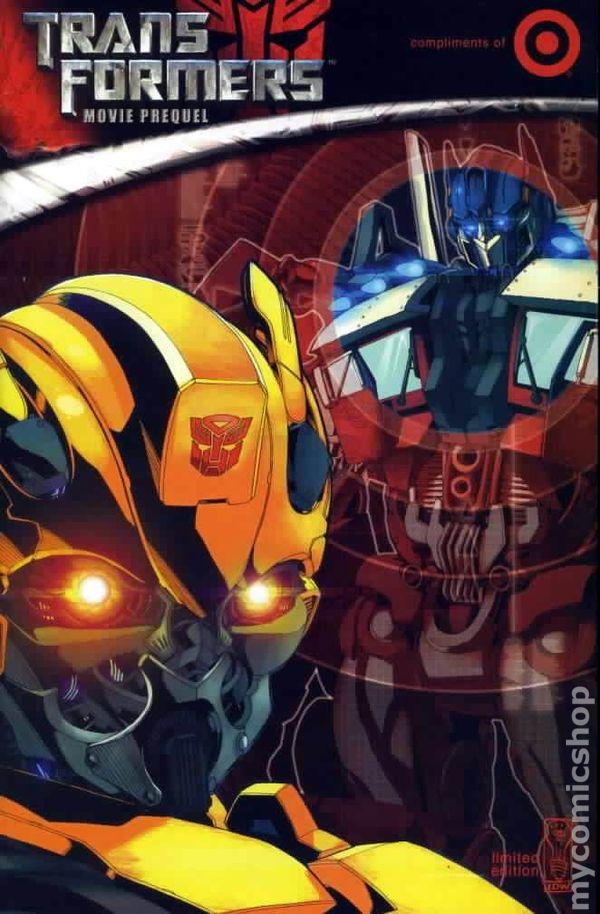 Transformers Movie Prequel  2007  Target Exclusive Comic Books