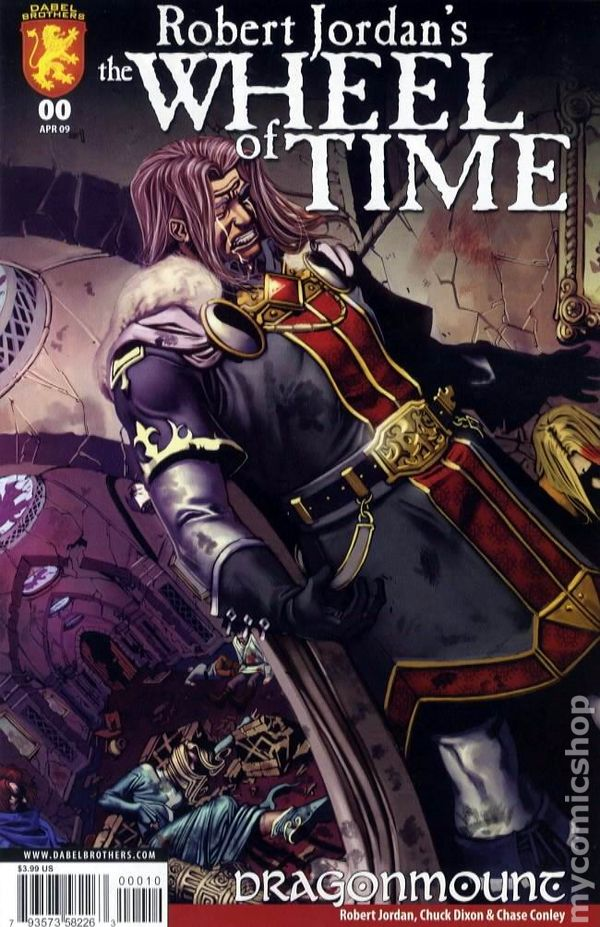 Wheel of Time Eye of the World 2009 comic books