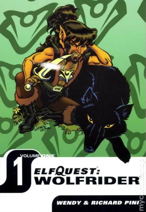 Elfquest Hidden Years 5 Siege to Blue Mountain 1 Pointy Ears!!