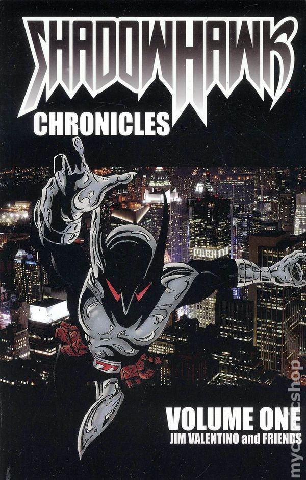 shadowhawk chronicles tpb 2010 shadowline image comic books