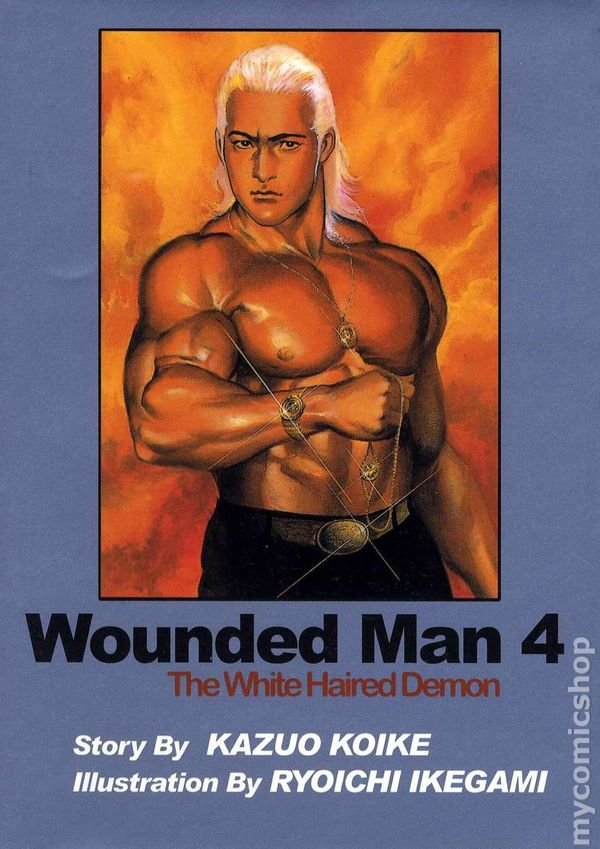 wounded man the white haired demon gn 2001 2005 comics one digest comic books. Black Bedroom Furniture Sets. Home Design Ideas