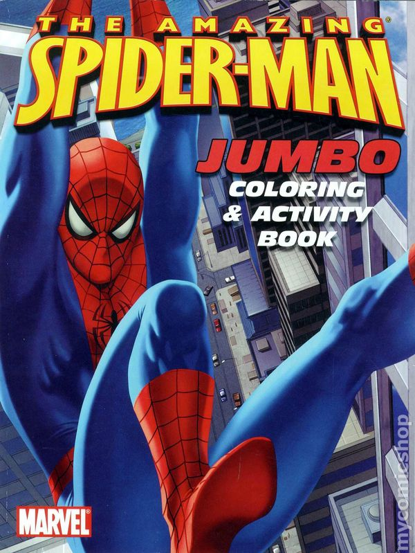 Comic books in 39 SpiderMan Coloring Book 39