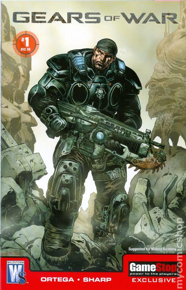 gears of war  2008  comic books