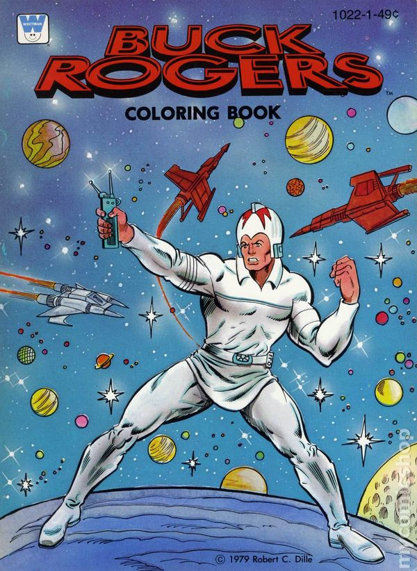 Comic books in 39 Collectible Coloring