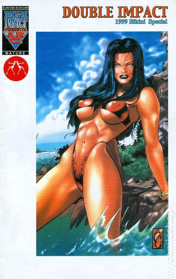 comic book bikini
