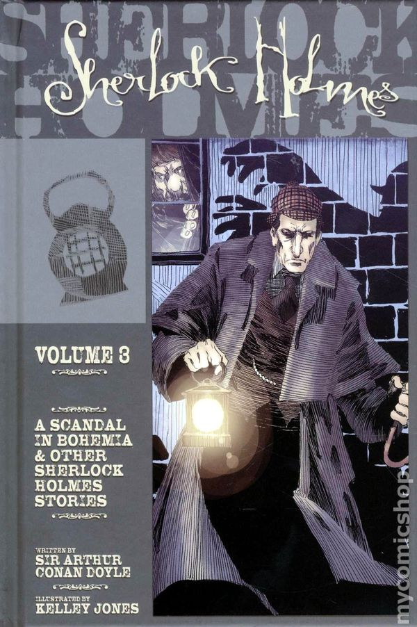 Sherlock Holmes HC 2009 IDW Novel