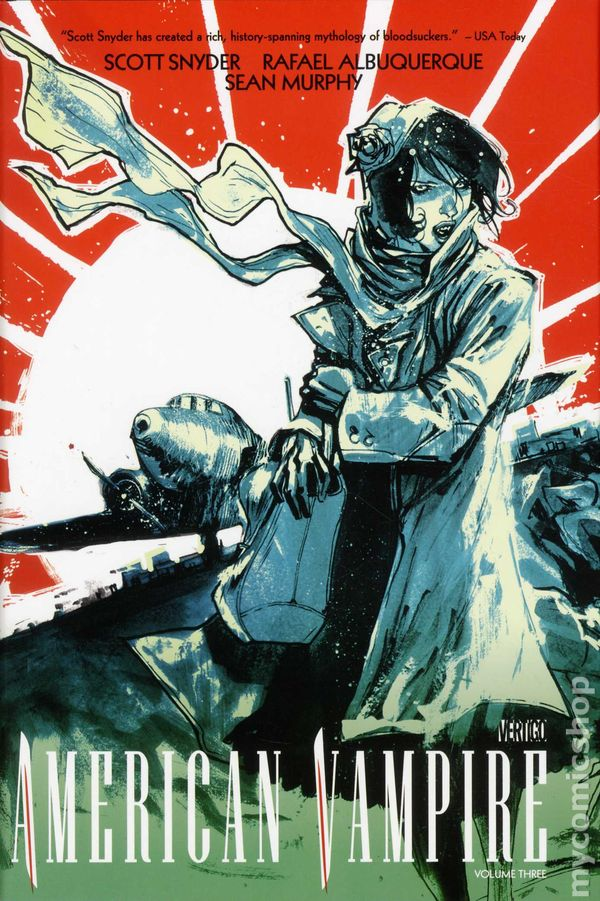 American Vampire HC (2010-2016 DC/Vertigo) comic books