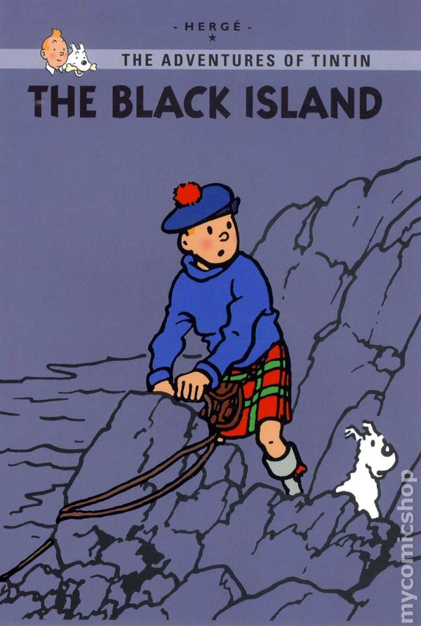 Adventures of tintin the black island gn 2011 lbc young reader s