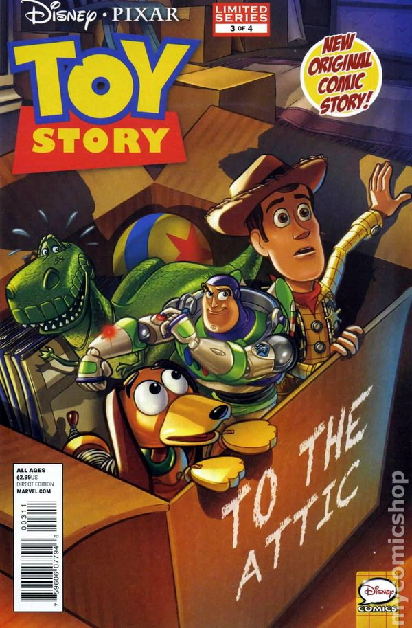 Toy Story 4 2012 : Toy story marvel comic books