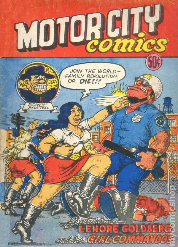 Motor City Comics 1969 Rip Off Press Comic Books