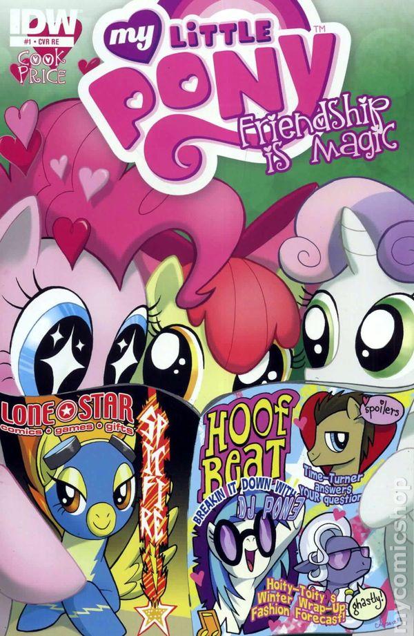 My Little Pony Friendship Is Magic 2012 Idw Comic Books