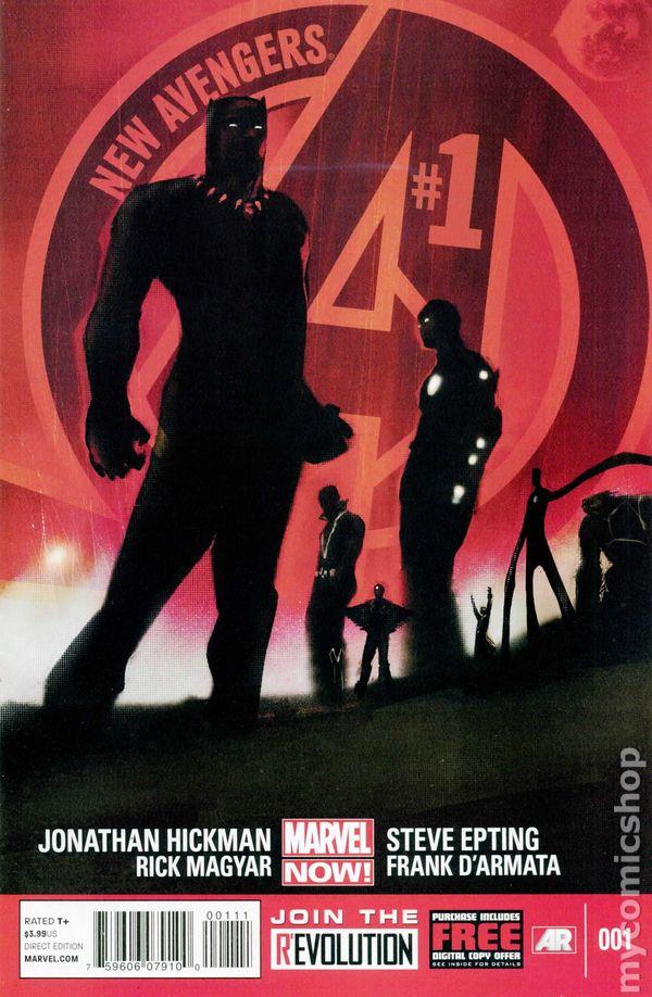New Avengers #1A