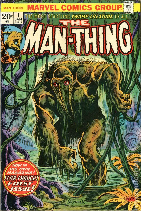 Superman 1950 Comic Man-Thing (1974 1st Se...
