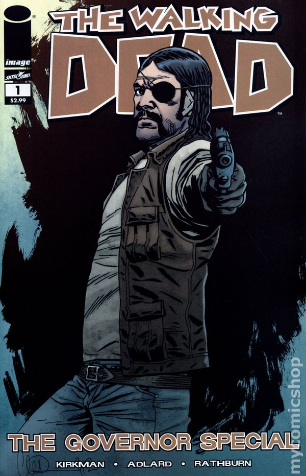 walking dead governor special 2013 image comic books