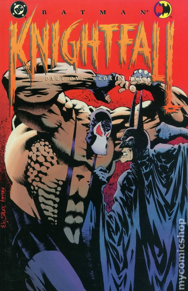 comic books in batman knightfall