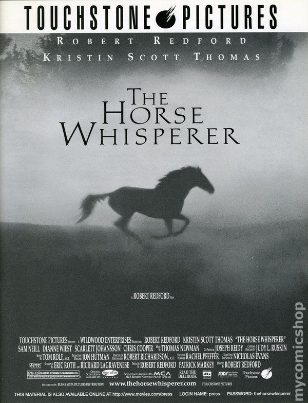 Horse Whisperer Promotional Media Book 1998 Comic Books