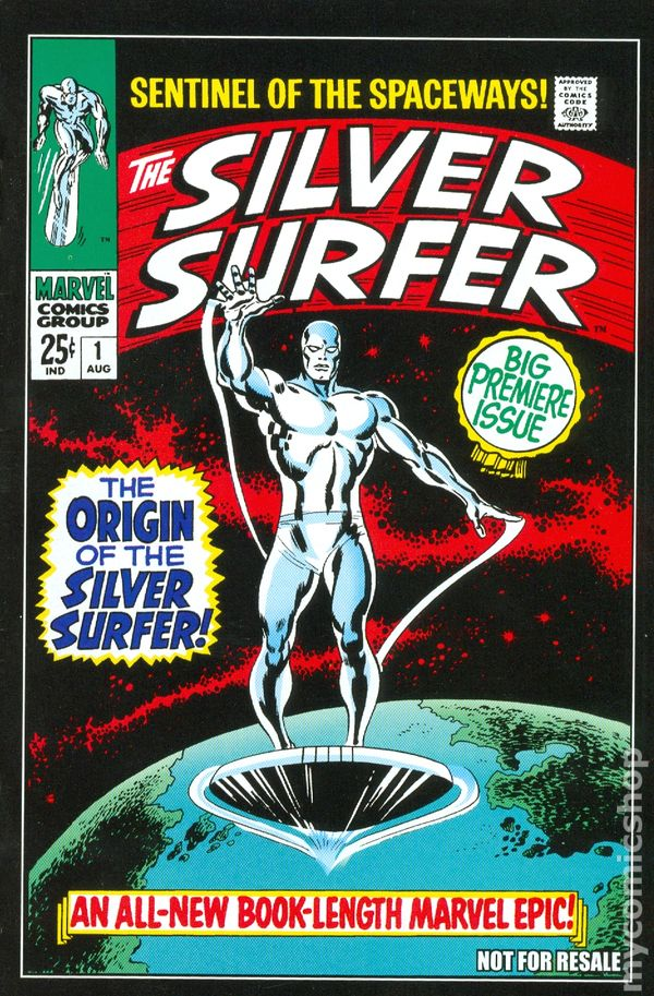Silver Surfer comic books issue 1