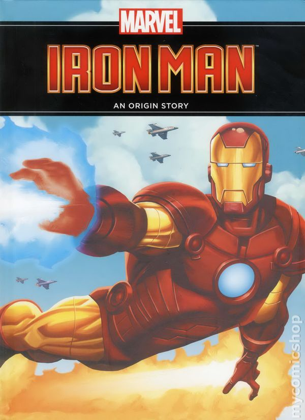 Origin Of Iron ~ Iron man an origin story hc nd edition comic books