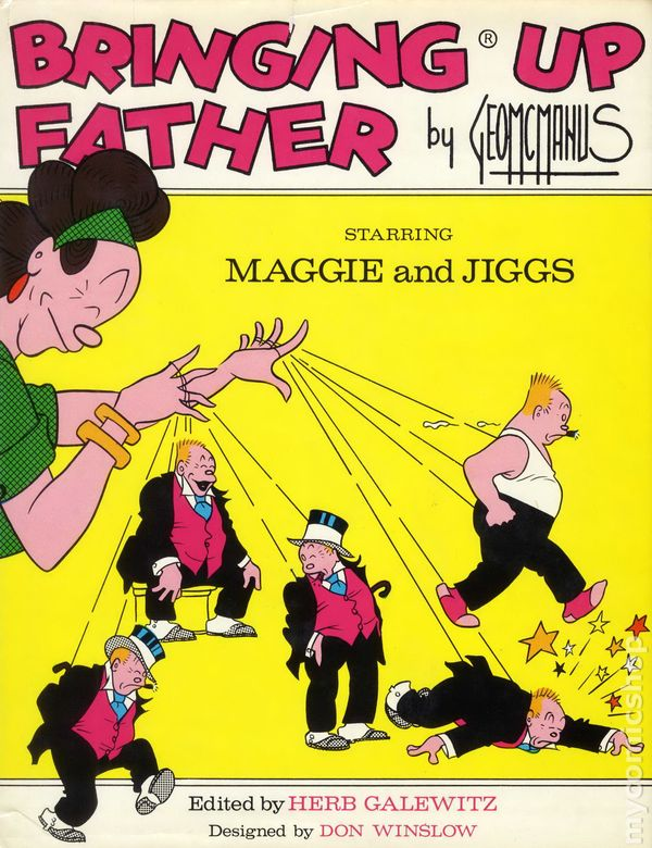 Pity, Jiggs and maggie comic strip