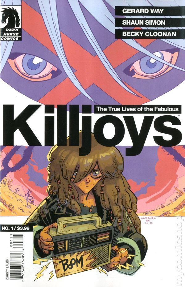Killjoys by gerard way