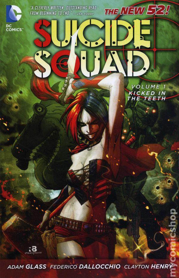 suicide squad tpb 20122014 dc comics the new 52 comic books