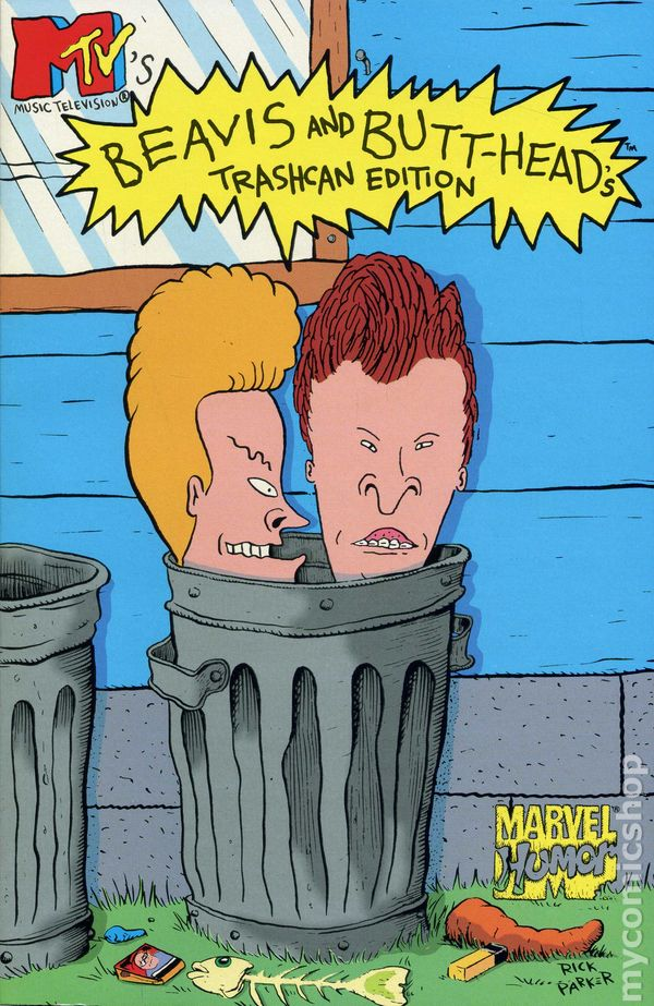 Comic books in 'Beavis and Butthead TPB Series'