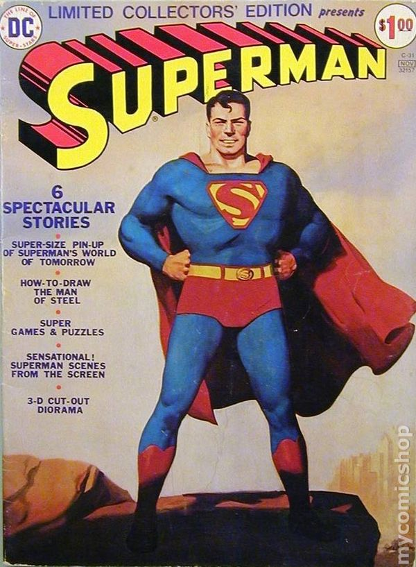 Superman (1974) DC Treasury Edition comic books